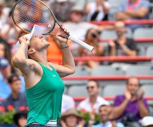 Malgré son deuxième match de la journée, Simona Halep a joué avec fougue pour vaincre Venus Williams, jeudi soir.