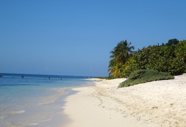 La sublime plage de Punta Frances sur  l'Île de la Jeunesse.