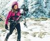 Caroline Côté, 29 ans, carbure à l'aventure et aux belles histoires. Elle en sera à sa troisième expédition d'envergure.