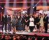 La gang de District 31 est montée sur scène à quelques reprises au cours du gala.