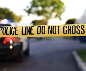 Bloc scène de crime - Crime Scene police americaine États-Unis