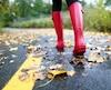 pluie automne météo boots
