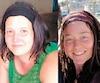 On remarque ici la ressemblance marquée entre Stéphanie Beauchamp (gauche), une Montréalaise de 38 ans travaillant au Burkina Faso, et Édith Blais (droite), une Sherbrookoise de 34 ans disparuedepuis la mi-décembre dans ce pays frappé par des menaces terroristes.
