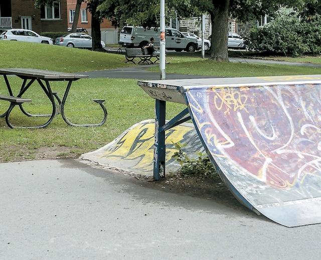 Il a attendu sa victime près du skate park du parc Raymond-Préfontaine, à Montréal.