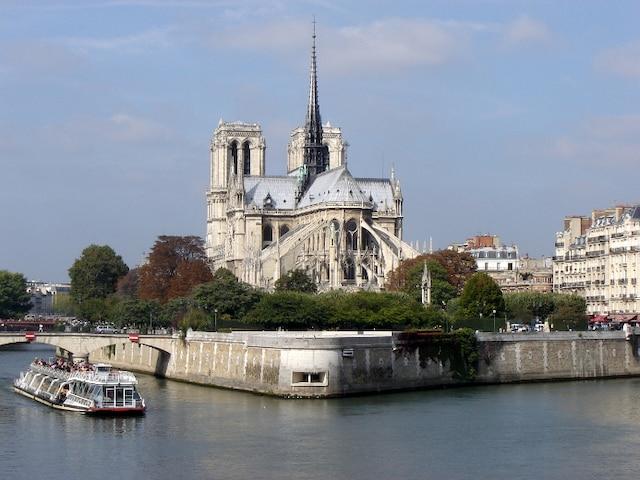 La cathédrale Notre-Dame, le monument le plus visité de Paris.