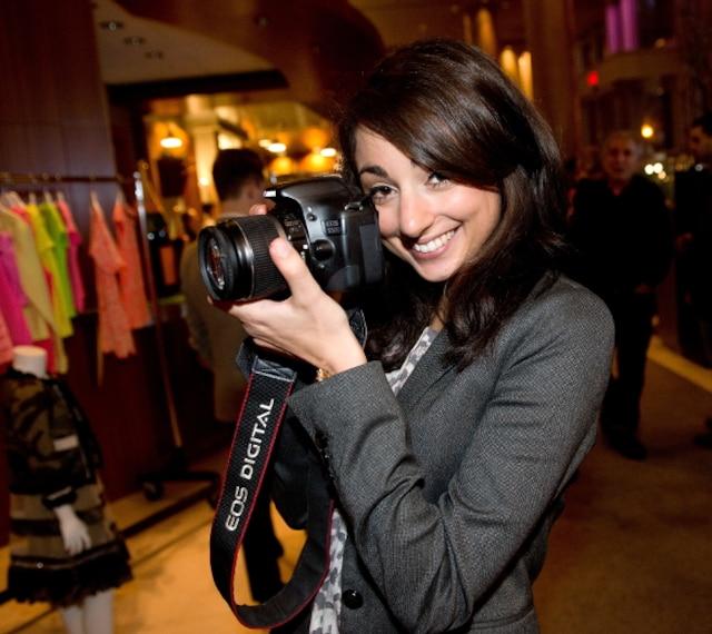 Le lancement qui a eu lieu mercredi passé à l'hôtel Le Crystal a attiré divers bloggeurs mode et mamans lookés comme la curieuse Cysshia Hayek pour Globe croqueuse