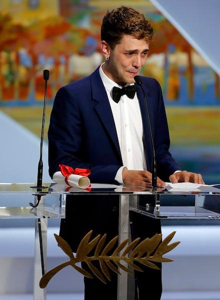 Xavier Dolan n'a pas gagné la Palme d'or mais il ne repartira pas de Cannes les mains vides. Le jury du 67e Festival de Cannes lui a remis le prix du jury.