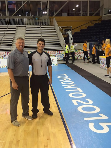 Guylain Lapointe et son fils Alexandre ont travaillé ensemble lors des Jeux panaméricains en juillet dernier.