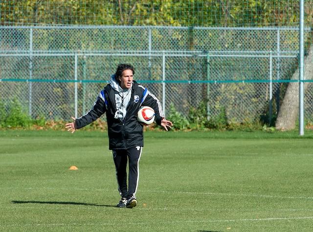 Dès son arrivée en poste, Mauro Biello a été accepté par les joueurs de l'Impact.
