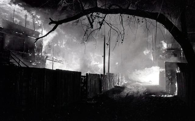 4. «Le feu prenait souvent dans les hangars et ça se répandait dans le temps de le dire», raconte Jacques Bourdon.