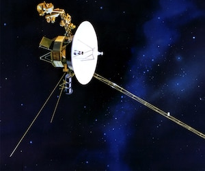Une esquisse de la sonde Voyager 1 de la NASA.