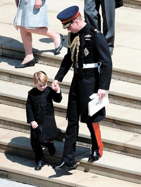 Le prince William et son fils, le prince George.