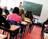 bloc école éleve enseignant