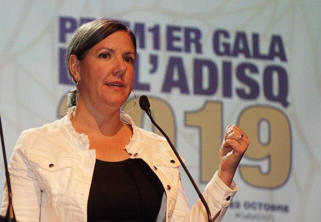 Julie Gariépy,productrice exécutive des Galas de l'ADISQ