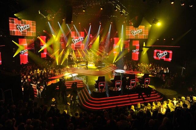 Première soirée des émissions en direct de La Voix, le dimanche 17 mars 2013.SEBASTIEN ST-JEAN/AGENCE QMI