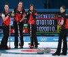 Après trois défaites, les Canadiennes ont enfin signé une première victoire en curling, samedi, dans le cadre des Jeux olympiques de Pyeongchang.