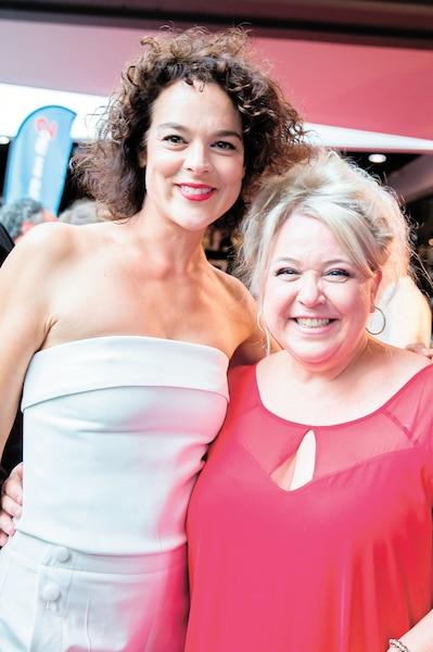 Hélène Bourgois-Leclerc et Sonia Vachon ont défilé ensemble.