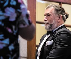 Salvatore Cazzetta était parmi les invités, en décembre, au mariage du Hells Martin Robert à la salle de bal du Windsor.