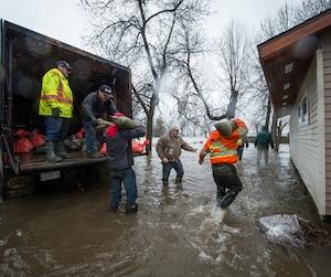 Crue printanière «historique» causant d'énormes inondations sur le territoire de la Ville de Rigaud, en Montérégie.