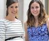Deux des 223 nouveaux médecins formés à l'Université Laval, les Dres Sophie Zérounian et Anne-Sophie Blais rayonnaient.