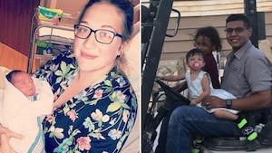 Elle meurt en protégeant son bébé de deux mois