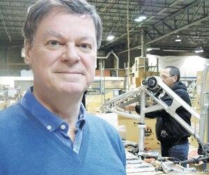 Raymond Dutil, PDG du fabricant de vélo de montagne Rocky Mountain.