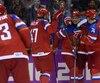 La Russie est le seul pays où l'abolition des joueurs de la LNH aux Jeux olympiques de 2018 est célébrée.