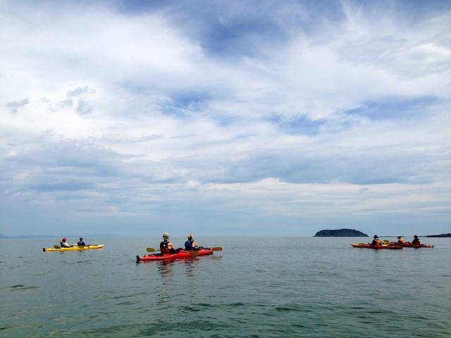 Kayak de mer avec SEBKA