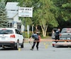 La violente agression a eu lieu dans un stationnement situé à l'intersection des boulevards Moody et des Seigneurs, à Terrebonne, le 22juillet 2016.
