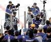 Les officiels ont maintenu leur décision d'accorder le but aux Sharks en prolongation, mercredi, au grand mécontentement des joueurs des Blues.