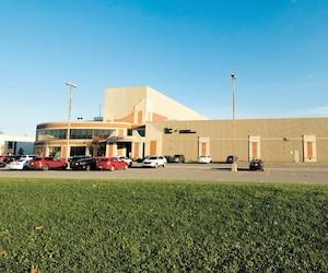 L'imprimerie Métropolitain, dans l'arrondissement Rivière-des-Prairies–Pointe-aux-Trembles, a fermé ses portes à la fin de 2017.