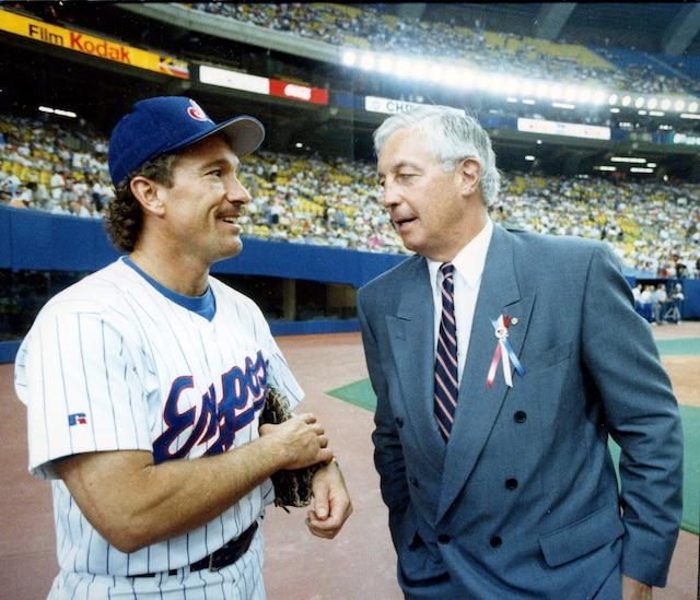 Le receveur des Expos, Gary Carter, et Jean Béliveau ont marqué l'histoire sportive de Montréal à leur façon.