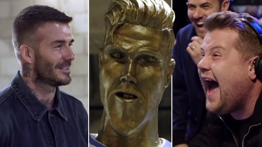 David Beckham piégé par James Corden!