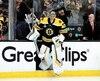Le gardien des Bruins, Tuukka Rask, maintient sa concentration en toutes circonstances depuis le début des séries.