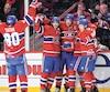 Rangers c. Canadiens