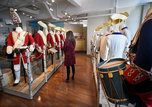 La toute nouvelle exposition permanente Identités, au Musée des plaines d'Abraham.
