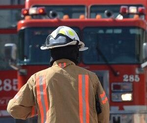 Bloc pompier incendie