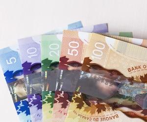 Bloc argent dollar canadien