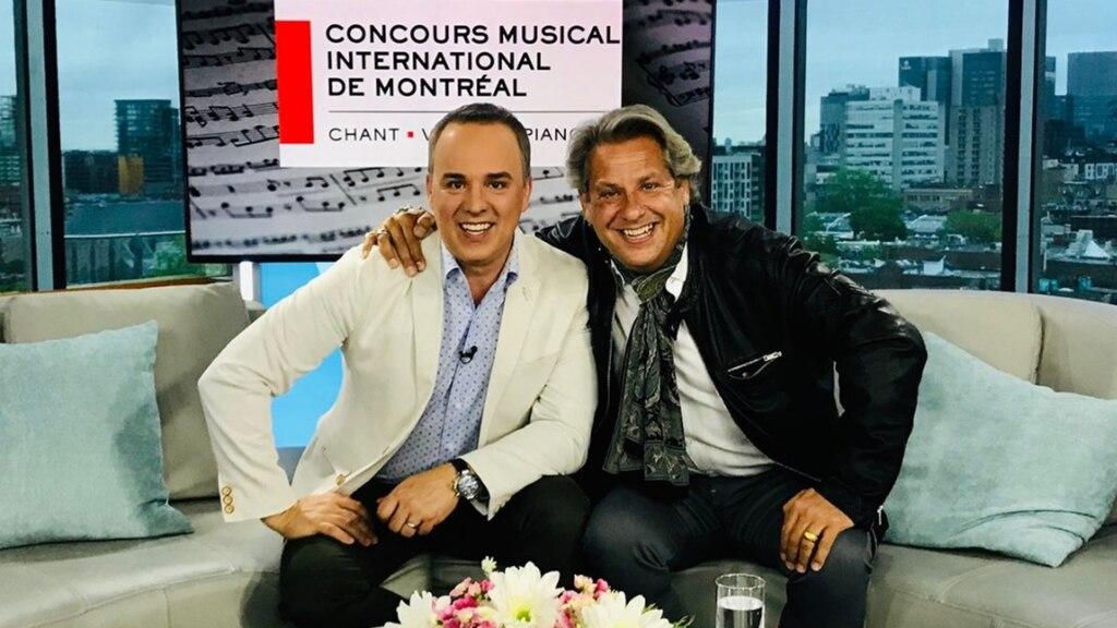 Alain Lefebvre pour le Concours musical international de Montréal