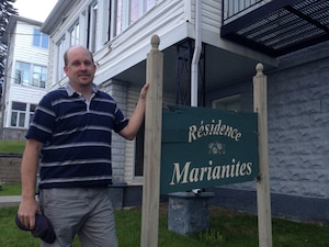 Le propriétaire de la Résidence Marianites, Jean-François Ruel, ne sait pas ce qu'il fera de son logement dans le futur.
