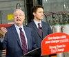 Paul Martin et Justin Trudeau