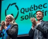 Manon Massé et Gabriel Nadeau-Dubois ont été élus porte-parole de Québec Solidaire.
