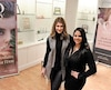 Andrea Gomez, directrice générale d'Omy, et Rachelle Seguin, présidente, chimiste d'Omy dans une de leurs boutiques.