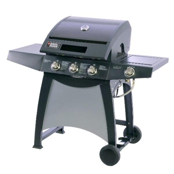 Le modèle 3500 Series offre trois brûleurs principaux en acier inoxydable qui développent une puissance totale de 48 000 BTU, ainsi qu'un brûleur latéral en acier inoxydable de 12 000 BTU.
