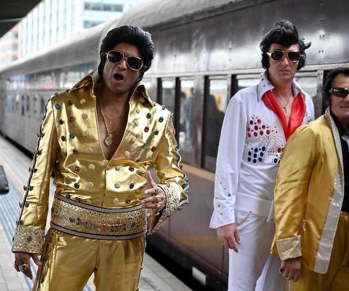 Elvis Express: les fans dans le train pour honorer le « King »