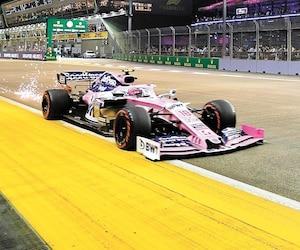 Lance Stroll a conclu le Grand Prix de Singapour à la 13e place.