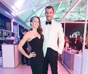 Ariane Brien Chicoine et Francisco Randez