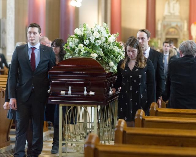 Les funérailles de l'homme ont été célébrées à Montréal le 17 janvier.