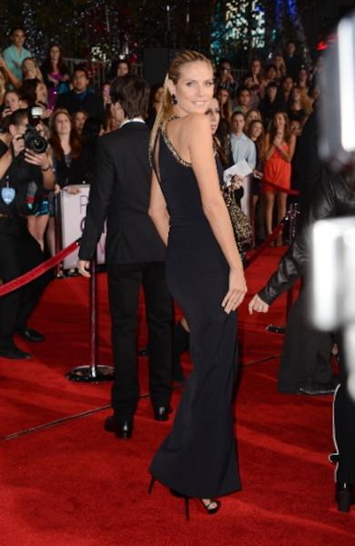 Le mannequin Heidi Klum était une des invités de cette soirée, où le public récompense ses personnalités préférées.