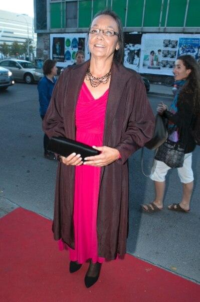 «J'aime toujours venir à Montréal. Ce festival est une grande célébration. Et j'adore l'histoire derrière le film, celle d'un amour entre un Noir et une Amérindienne», a confié l'actrice Tantoo Cardinal.